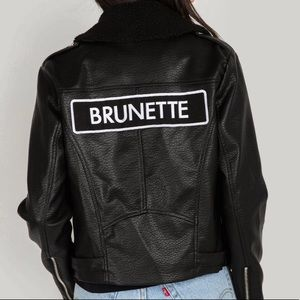 Brunette the Label - Vegan Moto Jacket